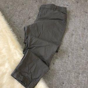 Old navy grey pixie pant skinny ankle sz.14